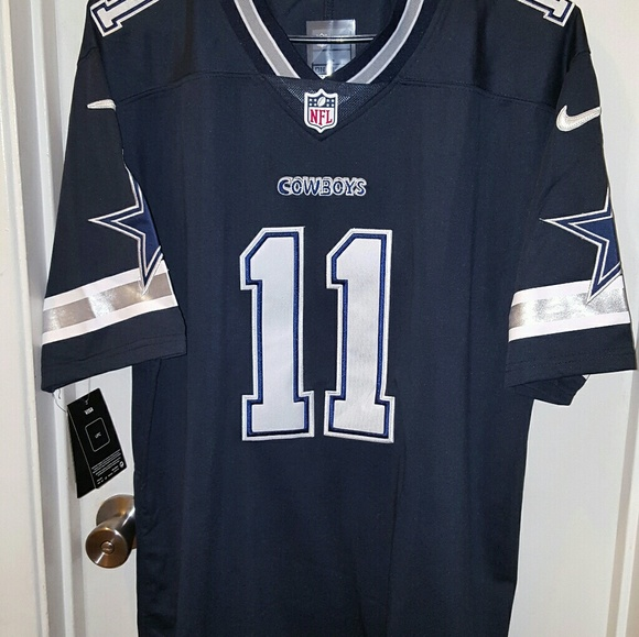 new arrival 7a128 3088a Dallas Cowboys Cole Beasley #11 dark Blue jersey